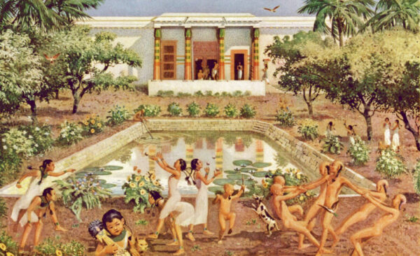 Сады в Древнем Египте