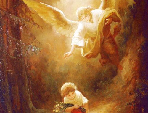 Стихотворение Молитва ангелу