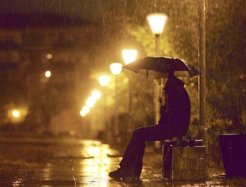 Стихотворение вечерний дождь