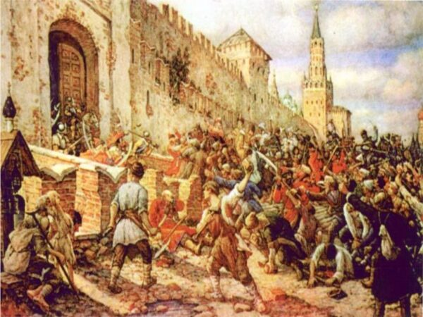 Восстание в Новгороде и Пскове