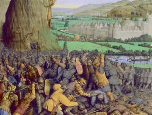 Борьба древних евреев с филистимлянами