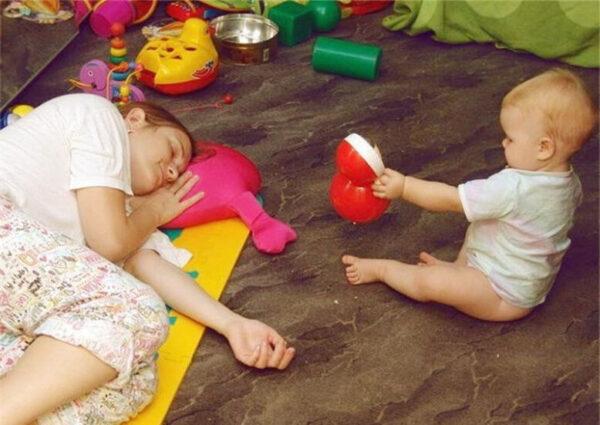 Синдром эмоционального выгорания мамы