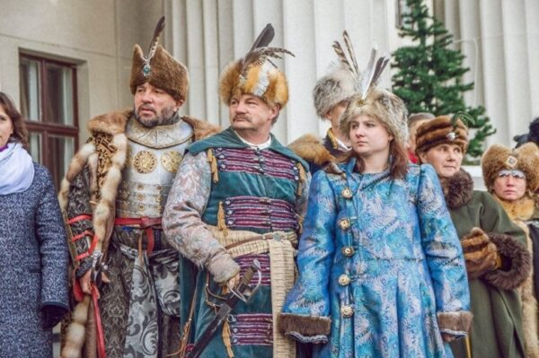 История празднования Нового года в Беларуси