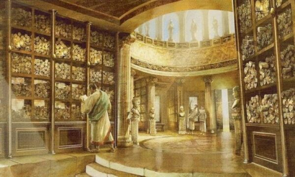 История Александрийской библиотеки